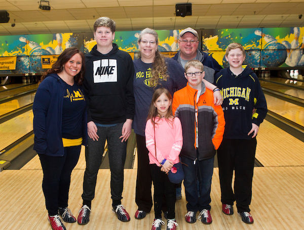 Teams Trevor Bowling for Camp Michitanki